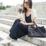 Long Dress + Sneakers / Vestido Largo + Zapatillas