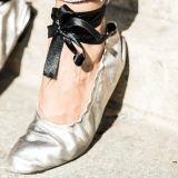 Fall Trends 2016:  Velvet + Ballet Flats / Tendencias Otoño 2016: Terciopelo + Bailarinas con Lazo