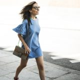 Summer 2017 Trends: Frill Denim Dress / Tendencias Verano 2017: Vestido Denim con Volantes