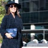 Trends: Blue Faux Fur Coat / Tendencias: Abrigo Azul de Pelo
