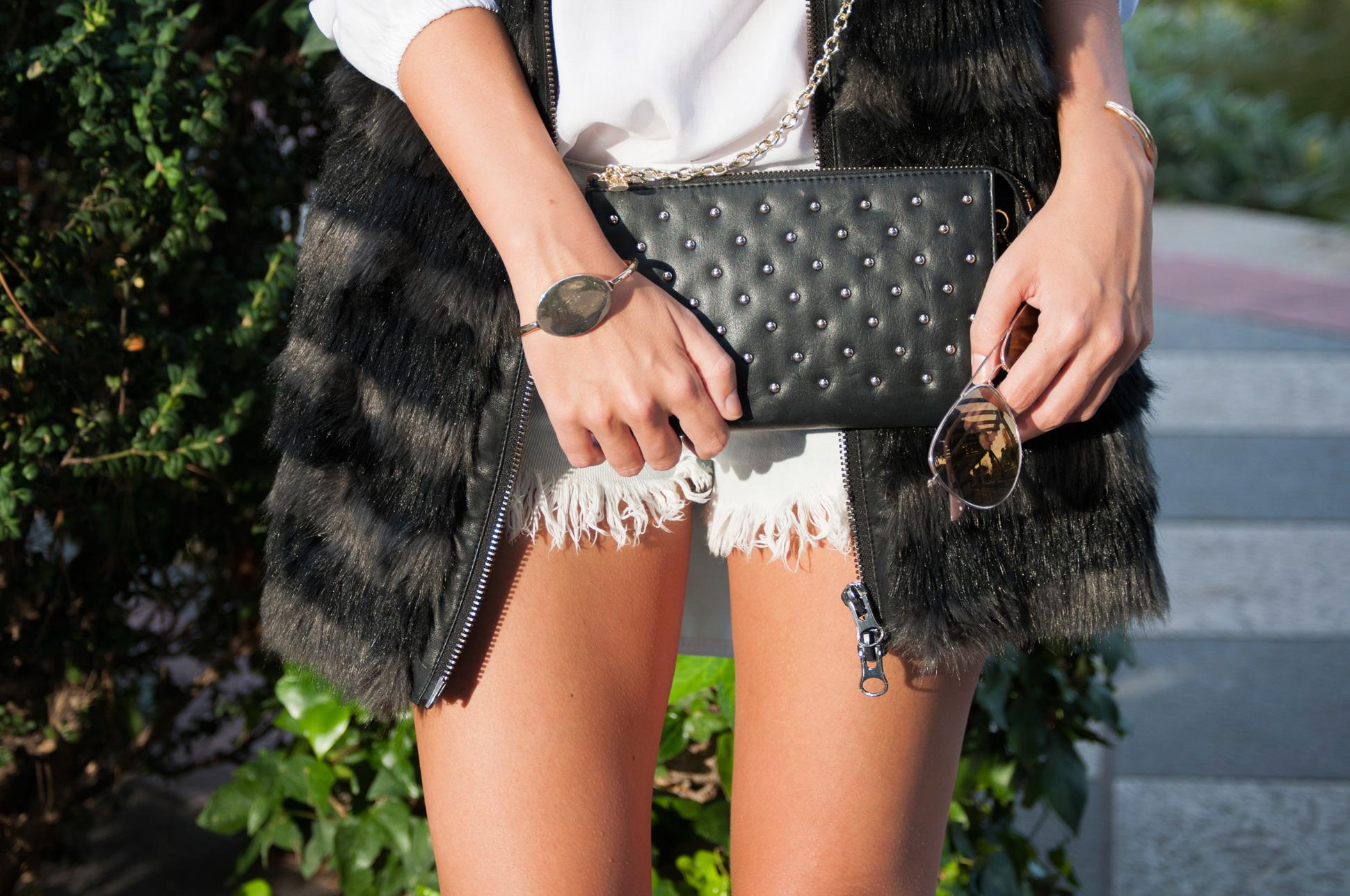 Fall 2015 Trends: Long Fur Vest / Tendencias Otoño 2015: Chaleco Largo de Pelo