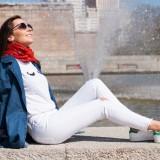 Spring Trends: All White Look / Tendencias de Primavera: Look en Blanco
