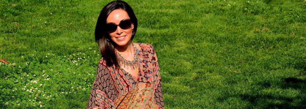 Boho-Chic Style: Ethnic Kaftan Look
